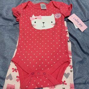 Cutie Pie Matching Sets - 3/$10 Cutie Pie Girls Size 6 9 months NWT 3 pc